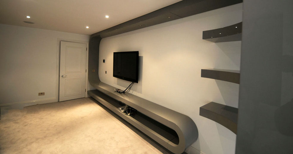 Tv unit design for bedroom home decoration live for Bedroom designs with tv unit